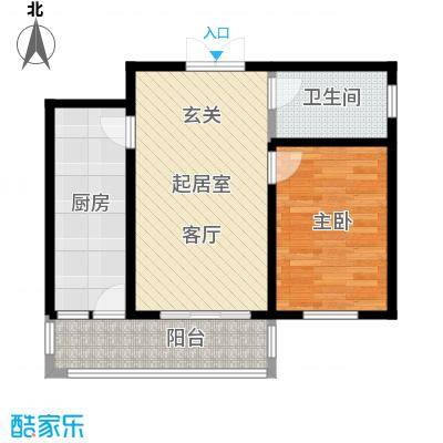 大正莅江78.22㎡二期10#1单元2门/2单元2门 建筑面积78.22平米户型1室1厅1卫