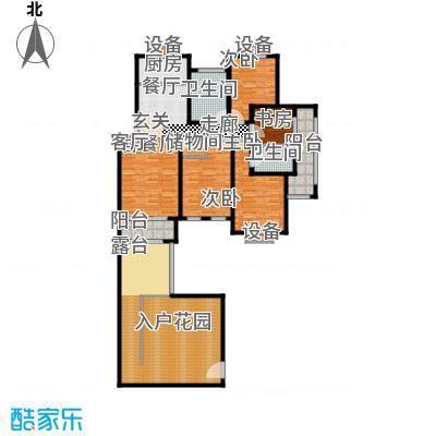 香溪左岸户型4室1厅2卫1厨