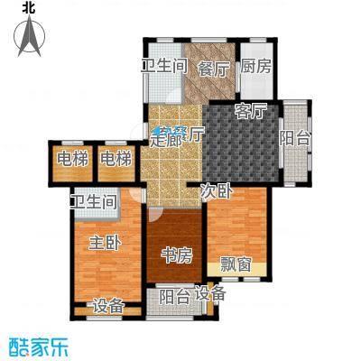 香溪左岸户型3室1厅2卫1厨