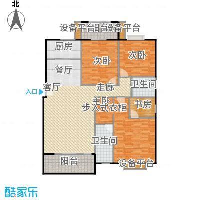 厦门金色阳光户型4室1厅2卫1厨