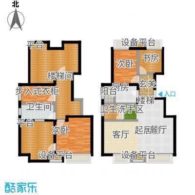 尚郡翠林苑户型9号楼C5-190-285-2户型