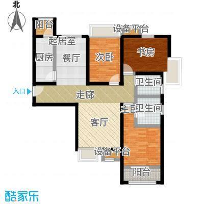尚郡翠林苑户型1号楼A2-190-285-2户型