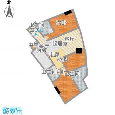 世茂海峡大厦194.12㎡M户型