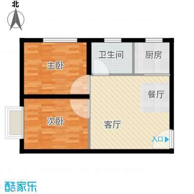 高铁时代广场61.65㎡户型10室