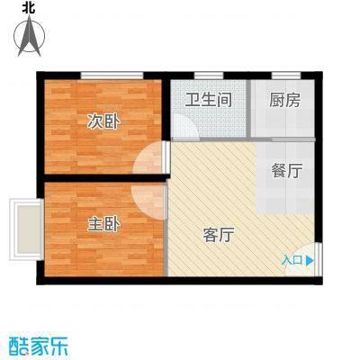 高铁时代广场61.04㎡户型10室