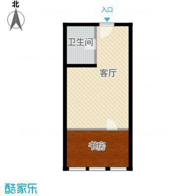 高铁时代广场47.37㎡户型10室