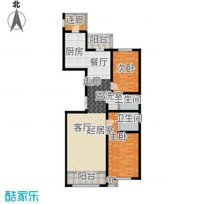 大正莅江140.93㎡二期1#2单元2门 建筑面积140.93平米户型2室2厅2卫