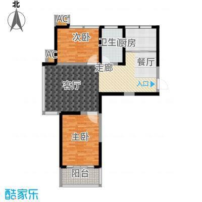 东岳书香苑96.39㎡96.39平方米户型
