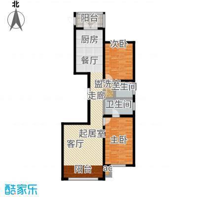 大正莅江129.27㎡二期8#1单元1门/2单元2门 建筑面积129.27平米户型2室2厅2卫