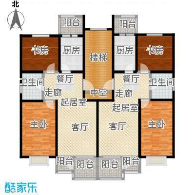 蓝岸森林92.00㎡2室2厅1卫户型