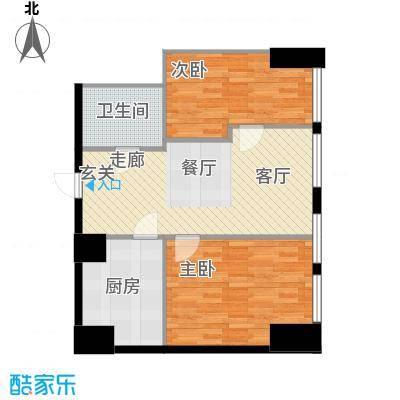 秀东尚座71.00㎡B5户型