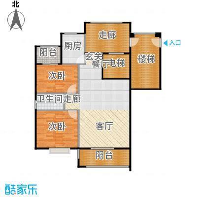 厦门金色阳光户型2室1厅1卫1厨