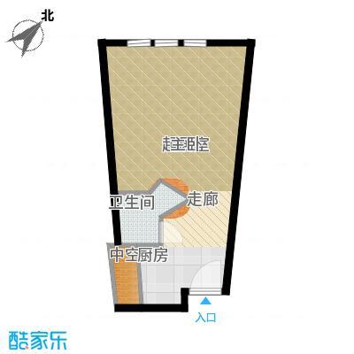 天津中心41.76㎡a-2户型