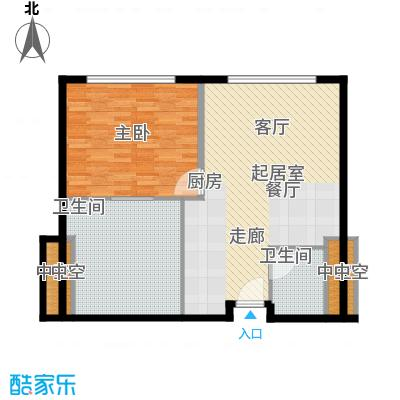 天津中心93.02㎡b-3户型