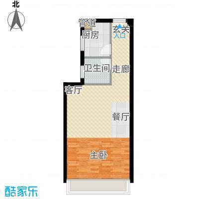 印象新城1室1厅1卫