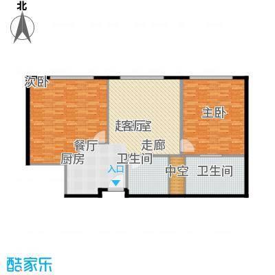 天津中心141.60㎡c-1-a户型