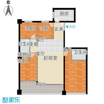 东河国际商住城157.00㎡4室2厅2卫