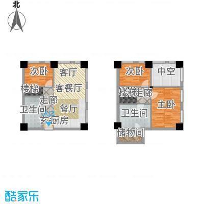 天津科技广场S2户型