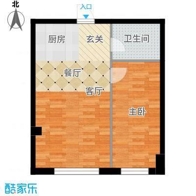 景阳SOHO户型1室1卫