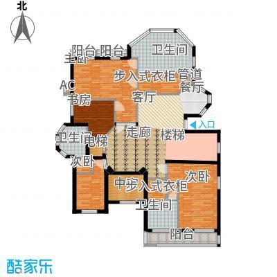 太原波西塔诺162.50㎡独栋别墅户型3室2厅2卫