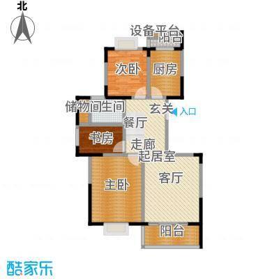 耀城广场二室二厅-90平方米-113套户型