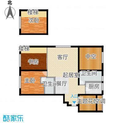 融创星美御128.48㎡1号楼A户型奇数层户型3室2厅2卫
