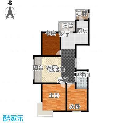 大正莅江141.55㎡二期1#1单元1门 建筑面积141.55平米户型3室2厅1卫