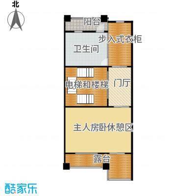 中海紫御公馆368.00㎡三层户型10室