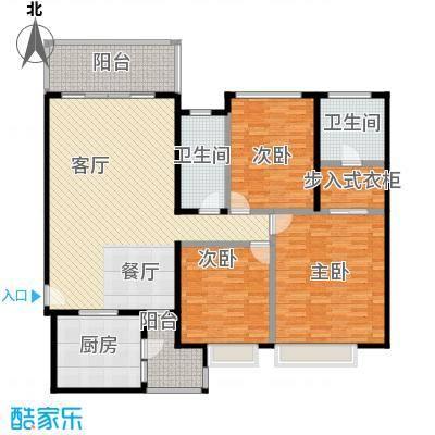 新余恒大雅苑135.88㎡2号楼1单元三户型3室2厅2卫