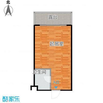 井冈・江山40.20㎡公寓C户型1室1厅1卫