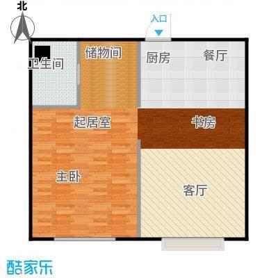 井冈・江山78.17㎡公寓B户型1室1厅1卫