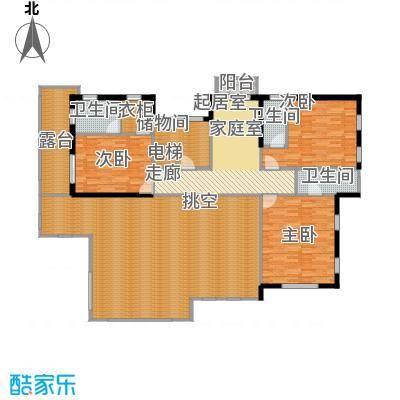 马山寨海景豪庭户型3室3卫