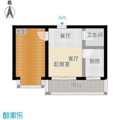 山水文园35.05㎡一室一厅一卫35.05㎡户型图户型1室1厅1卫