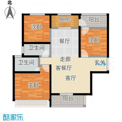 江阴万达广场98.00㎡--117套户型10室