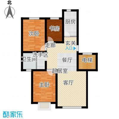 公元2099110.00㎡1号楼、3号楼户型3室2厅1卫