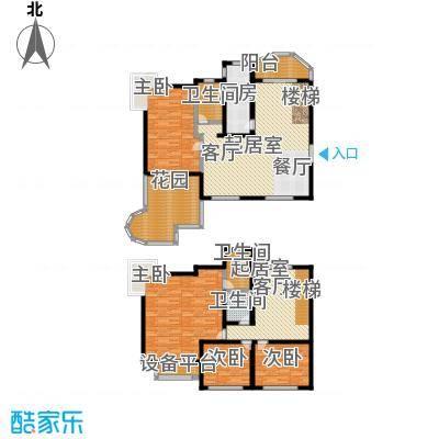 天马相城209.40㎡三期9号楼户型4室2厅3卫