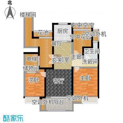 新创玉山广场113.00㎡小高层户型3室2厅1卫