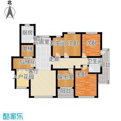国际新城157.00㎡国际启筑G户型3室2厅2卫