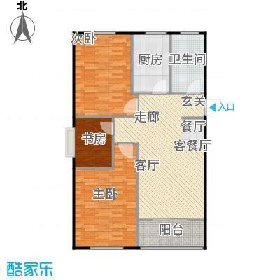 兴盛铭仕城97.08㎡11、21#A户型三室两厅一卫:97.08平米户型3室2厅1卫