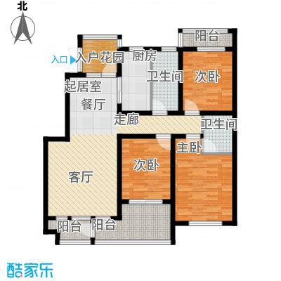 国际新城国际官邸G户型3室2厅2卫