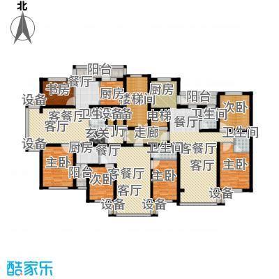 金港湾二期户型6室3厅4卫1厨