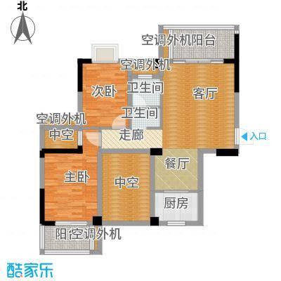 广隆海尚首府5#E户型