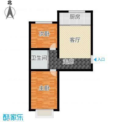 滨河第一城72.95㎡2室1厅1卫
