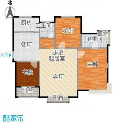 熙园三室两厅两卫户型3室2厅2卫