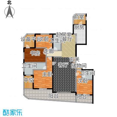 兴龙 香玺海233.00㎡5号楼C户型4室2厅3卫户型4室2厅3卫