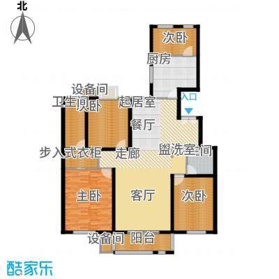 百合小筑159.07㎡四室两厅两卫159.07㎡D户型4室2厅2卫