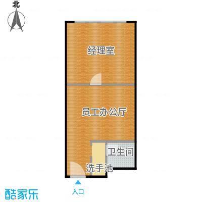 百悦 梧桐中心51.92㎡B1户型