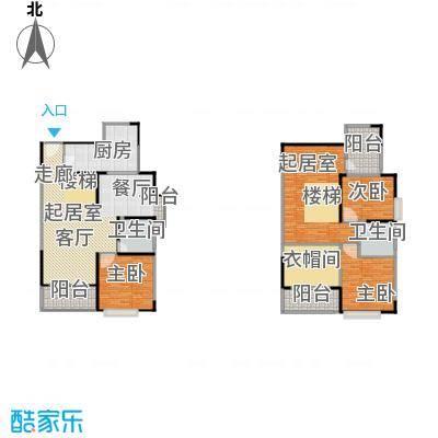 一品名门云墅210.68㎡D4a 赠37.1平米户型5室2厅4卫