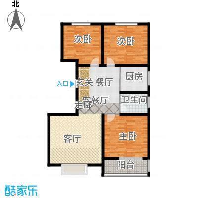 天润国际城户型3室1厅1卫1厨