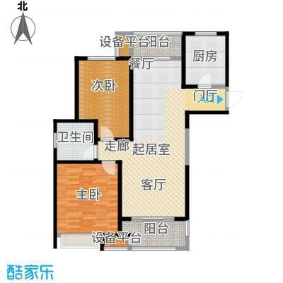 苏宁天�御城103平户型2室2厅1卫